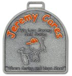 Single Faced Medal Custom Die Cast Medals