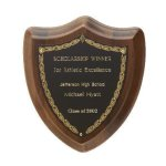 Laurel Shield Plaque Employee Awards