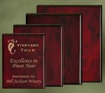 Piano Finish Wood Plaques Employee Awards
