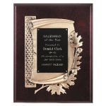 Antique Bronze Oak Leaf Plaque Recognition Plaques