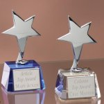 Small Stars with Crystal Bases Sales Awards