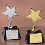 Small Stars with Glass Bases Star Cast Awards