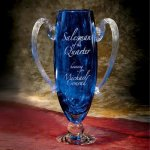Cobalt Winner's Cup Vase Award Trophy Cups