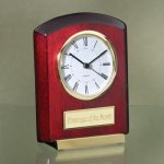 Tilted Piano Finish Wood Metal Accent Awards